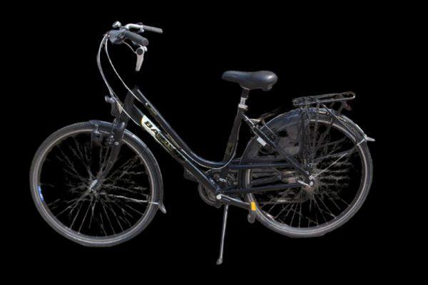 hybride fiets zwart 1024